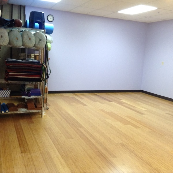 New Studio Warm Bamboo Floors