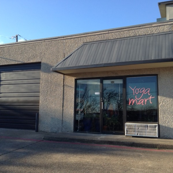 New Yoga Mart USA Studio Storefront